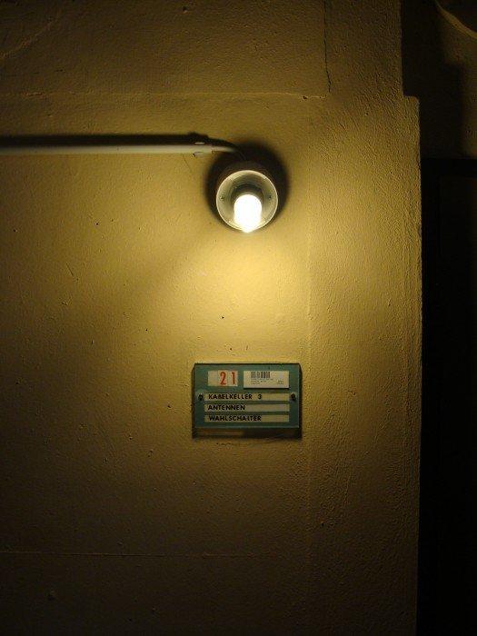 Im Keller der Sendeanlage Wertachtal