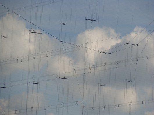 Antennendrähte in Wertachtal