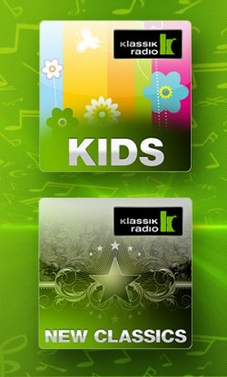 Neue Webchannels bei Klassik Radio