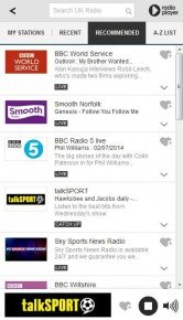 Radioplayer Screenshot
