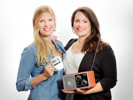 Eva Tanski und Leonie Koch. Foto: Antenne Münster