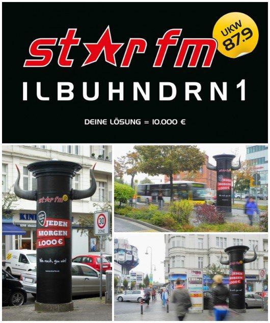 Star FM Werbekampagne