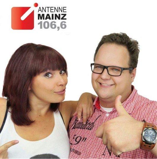 """Doppel Desi und Marco Themel, die beiden Neuen in """"Guten Morgen Mainz"""" (Bild: ANTENNE MAINZ)"""