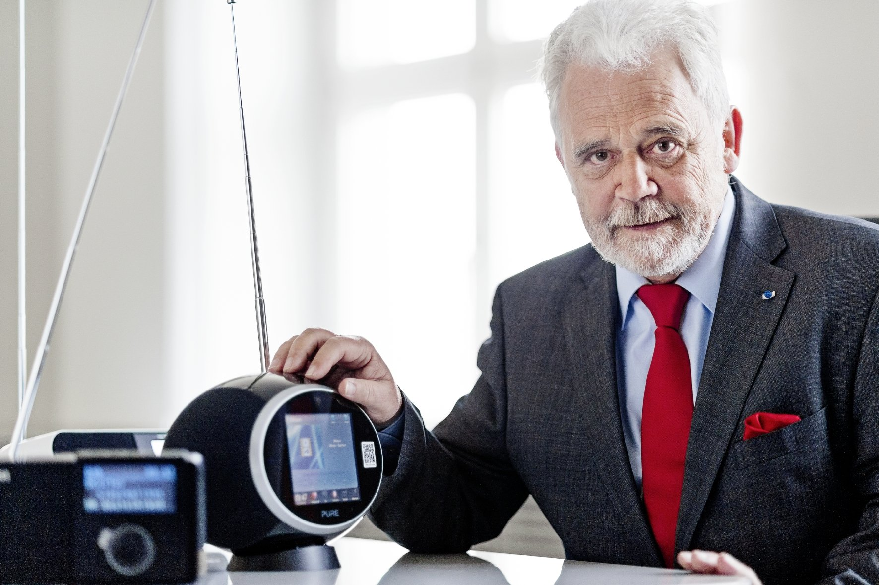 Willi Steul. Foto: Deutschlandradio / Bettina Fürst-Fastré