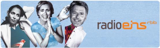 Anne Will, Caren Miosga und Jörg Pilawa bei radioeins. Quelle: RBB