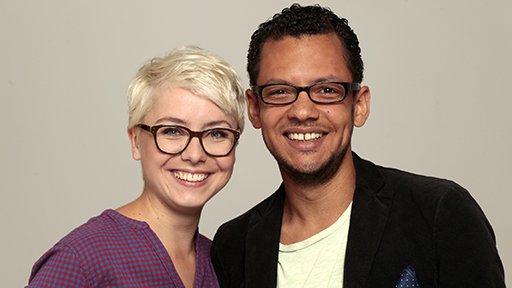 Sarah Zerdick und Djamil Deininger (Bild: rbb/Christian Thomas)