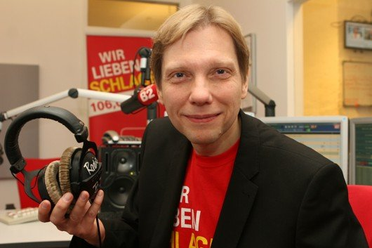 Andreas Dorfmann ab 05.10.2014 bei radio B2 (Bild: POS)