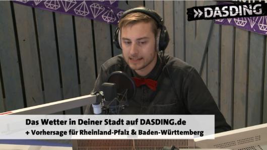 Die Consi-Show als Visual Radio bei DASDING