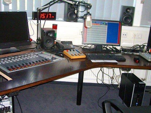 Studio von Antenne Frankfurt 95.1 (Bild: Hendrik Leuker)