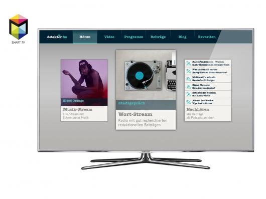 Detektor FM Smart-TV App