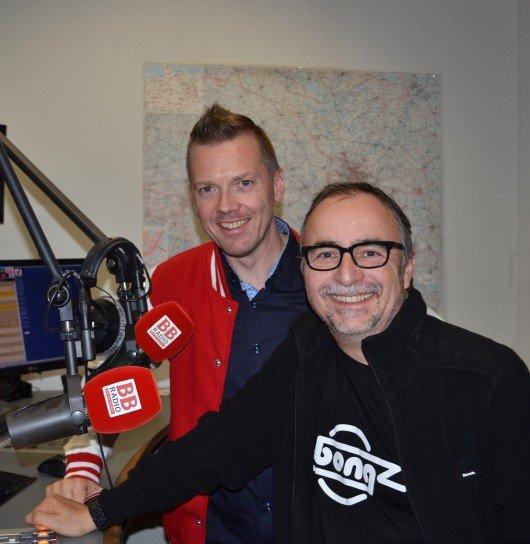 Jens Herrmann und Jürgen Karney. Foto: BB Radio