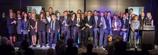Alle Preisträgerinnen und Preisträger des LfM-Hörfunkpreises 2014 (Bild: LfM)
