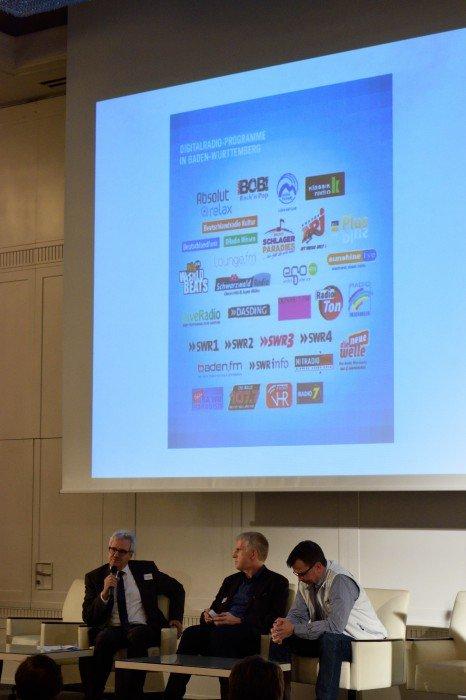 Pressekonferenz zum Start der neuen DAB-Programme. Foto: RADIOSZENE