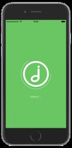 Tonio-App auf dem iPhone