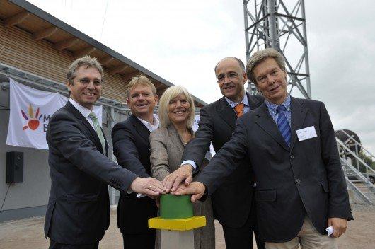Einweihung Sendemast Rostock