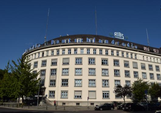 Deutschlandradio-Funkhaus in Berlin. Foto: RADIOSZENE