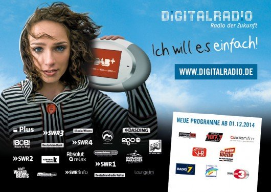 Digitalradio Kampagne Baden-Württemberg