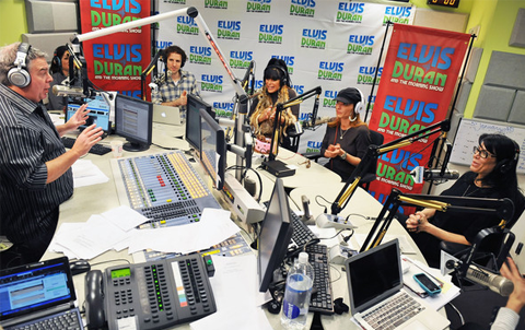 Elvis Duran and the Z100 Morning Show