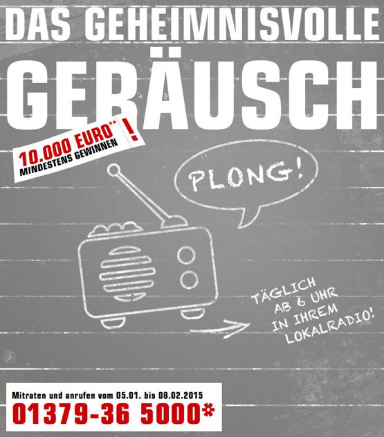 Das geheimnisvolle Geraeusch NRW 2015