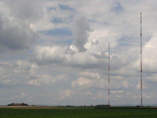 Der Sender Aholming in Bayern ist für die Frequenz 207 kHz zuständig. Foto: RADIOSZENE
