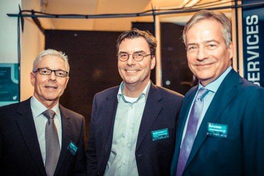 Ralf Mothil, MothilConsulting, Bertram Schwarz, Geschäftsführer TOP Radiovermarktung, Ulrich Gathmann, Geschäftsführer BO-Beteiligungsgesellschaft mbH