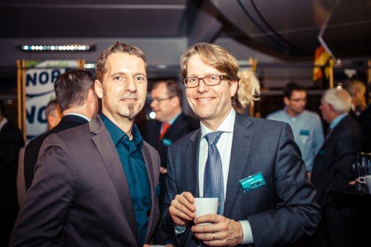 Volker Mittmann, R.SH-Moderator, Lars Fetköter, Stellvertretender Chefredakteur Lübecker Nachrichten