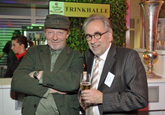 Comedian Dietmar Wischmeyer mit Eckart Pohl (NDR)