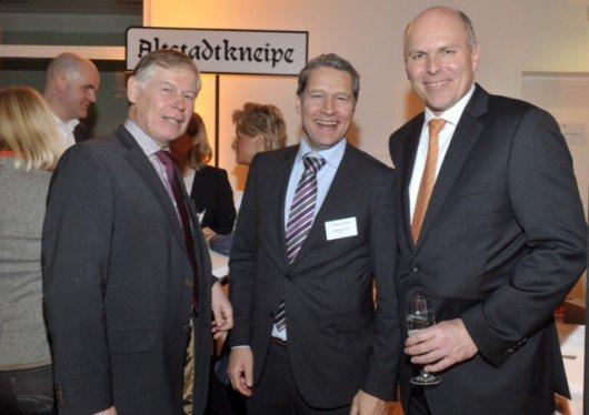Ewald Dobler (Alfelder Zeitung), Stefan Borrmann (VNZV), Harald Gehrung (ffn-GF)