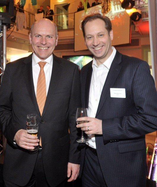 Harald Gehrung (ffn-GF), Patrick Bernstein (Geschäftsführer MORE)