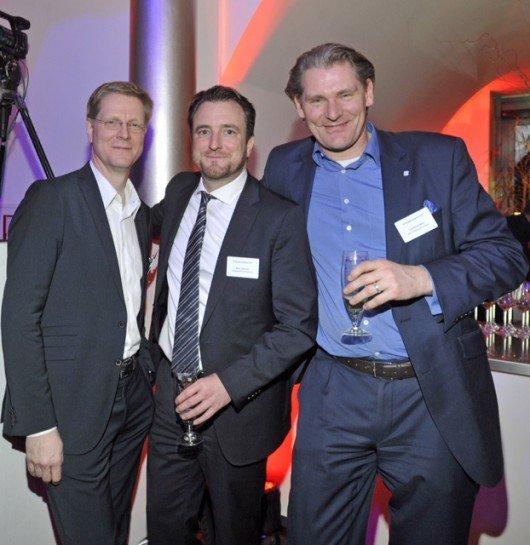 Hendrik Brandt (HAZ), Marc Zeimetz (Madsack), Laurence Mehl (NOZ)