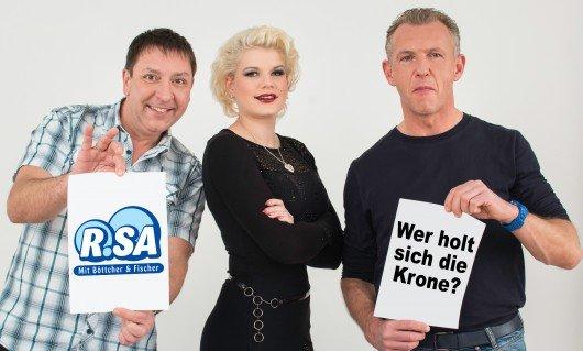 Melanie Müller mit Böttcher & Fischer.