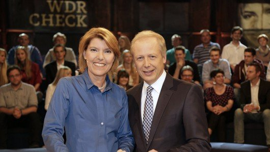 Bettina Böttinger und Tom Buhrow. Foto: © WDR/Herby Sachs