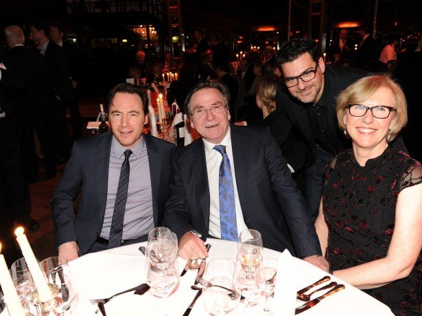 Michael Bully Herbig, Elmar Wepper und Frau Anita, Rick Kavanian (Bild: Radio Gong)