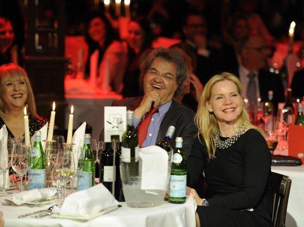 Helmut Markwort und Patricia Riekel, Alexandra Holland (Bild: Radio Gong)