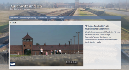 Screenshot http://auschwitzundich.ard.de