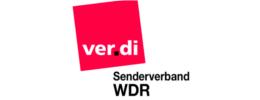 ver.di Senderverband WDR Logo