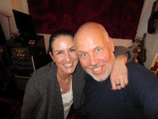 "Radio 7 Moderatorin Chrissie Weiss mit Andreas ""Bär"" Läsker. Foto: Radio 7"