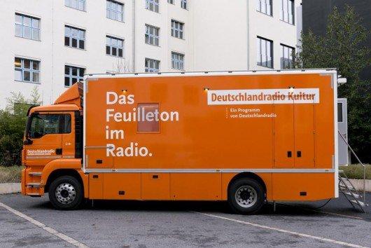 Der neue ÜB-1 des Deutschlandradios.