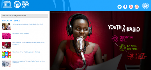 Screenshot http://www.diamundialradio.org