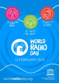 Poster zum Weltradiotag