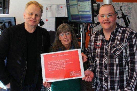 Herbert Grönemeyer Ursula Tharr Ansgar Borgmann (Bild: Radio Bochum)