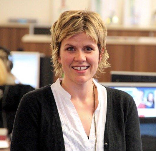 Tina Wilhelm ist die neue Programmdirektorin im Funkhaus Halle