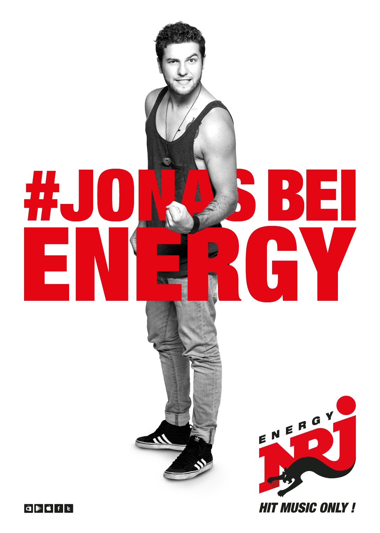 JONAS MANN bei ENERGY