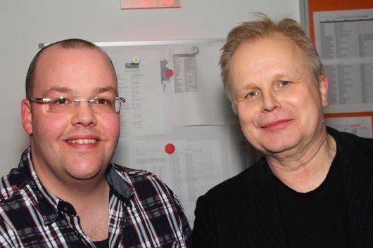Moderator Ansgar Borgmann und Herbert Grönemeyer (Bild: Radio Bochum)