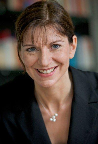 hr-info-Chefredakteurin Katja Marx (Bild: HR/Sascha Rheker)