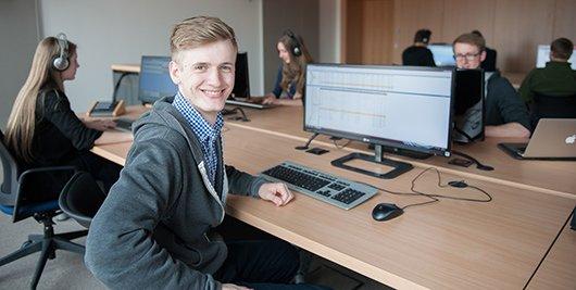 Neuer Redaktionsraum von 99drei Radio Mittweida (Bild: Hans Tröschel)
