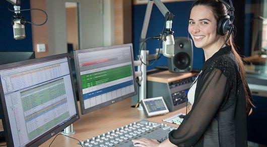 99drei Radio Mittweida Studio 1 (Bild: Hans Tröschel)
