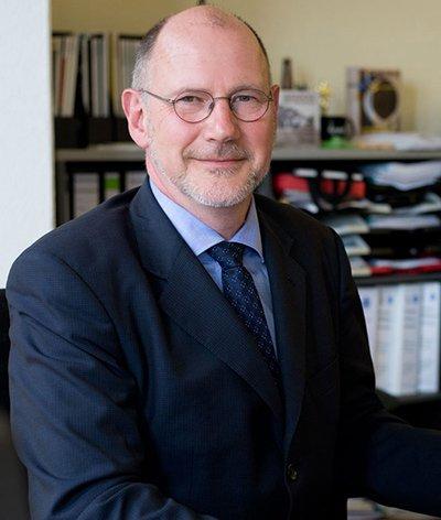 Prof. Michael Hösel (Programmdirektor 99drei Radio Mittweida)  (Bild: Sarah Krause)