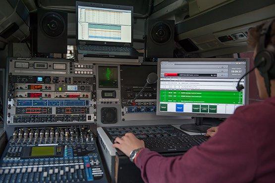 Ü-Wagen 99drei Radio Mittweida ( Bild: Hans Tröschel)