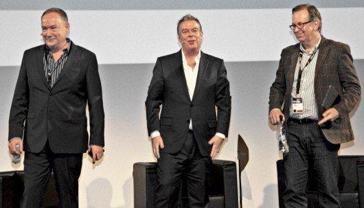 Dennis Clark, Elvis Duran, John Simons (Bild: @ RADIOSZENE)